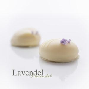 Met de bloemige smaak van verse lavendel knopjes.